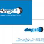 Diseño imagen corporativa - tarjeta de visita | Clasgolf