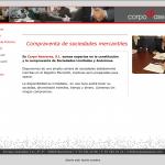 Web corporativa | Corpo Asesores
