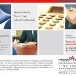 Diseño anuncio de prensa | Corpo Asesores