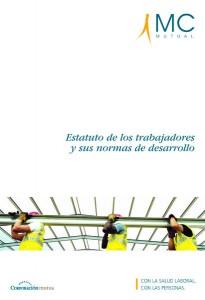 Libro | Diseño editorial | MC MUTUAL estatuto de los trabajadores - portada