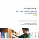 Libro y CD interactivo   Prontuario MC MUTUAL 2006 - portada