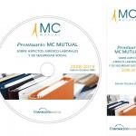 CD interactivo   Prontuario MC MUTUAL 2008 - galleta CD y punto de libro