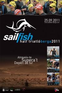 Campaña | Sailfish Half-Triatló Berga 2011 - Póster y Flier