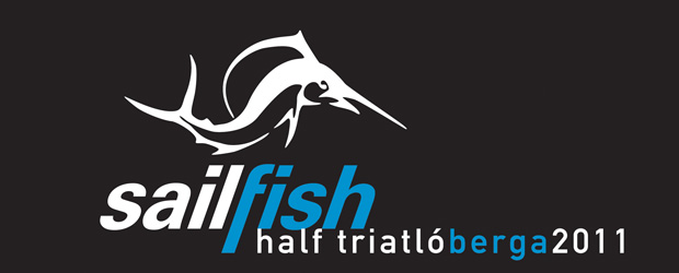 Campaa para Sailfish Half-Triatl Berga 2011. Diseo de imagen corporativa &#8211; Logotipo Cartel Flier Diseo grfico de la web | sailfish-berga.com