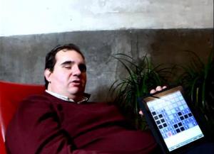 Jonhatan Chacón | Foto extraída del Vídeo por Óscar Monzón