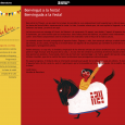 Carla Besora, ilustradora formada en la Escola Massana de Barcelona y actualmente estudiando ilustración y serigrafía en Gent (Bélgica) ha sido la encargada este año de realizar el cartel de...