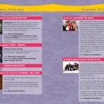 Diseño programa de mano Orrius 2011 - 2