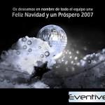 Felicitacion de navidad - Eventive (castellano)