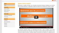 Diseño de cabecera y menú para la web de Bingo Intelligence | HTML y CSS