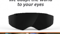 BIEL GLASSES, a project to develop Smart Glasses to improve personal autonomy for people with low vision. Design stand FYFN, posters, rollup, flyers, website etc.